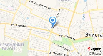 Государственный Калмыцкий Ансамбль Песни и Танца Тюльпан на карте
