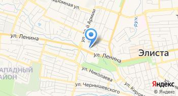 Управление государственного автодорожного надзора по Республике Калмыкия на карте