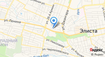 Представительство Насос -Импорт в Элисте на карте