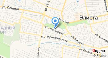 Бюджетное учреждение дополнительного образования Республики Калмыкия Эколого-биологический центр учащихся на карте
