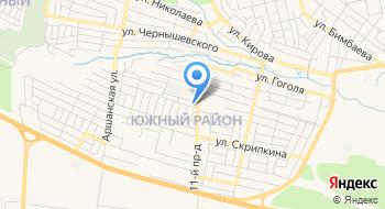 Отделение почтовой связи Элиста 358008 на карте
