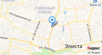 Отделение почтовой связи Элиста 358007 на карте