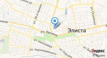 ОГИБДД УМВД России по г. Элисте на карте