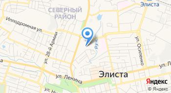 Управление Федеральной службы исполнения наказаний России по Республике Калмыкия на карте