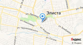 Отделение почтовой связи Элиста 358000 на карте