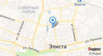 Центр крови Республики Калмыкия на карте