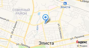 ЛПП на станции Элиста на карте