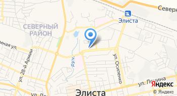 Калмыцкий финансово-экономический колледж на карте