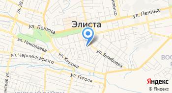 Управление Ветеринарии Республики Калмыкия на карте