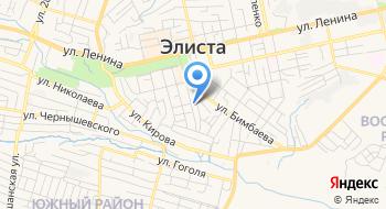 Министерство по строительству транспорту и дорожному хозяйству Республики Калмыкия на карте