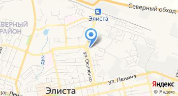 Отдел судебных приставов по Целинному и Приютненскому районам УФССП России по Республике Калмыкия на карте