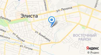 Школа-интернат МОУ на карте