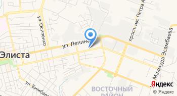 Отделение почтовой связи Элиста 359053 на карте