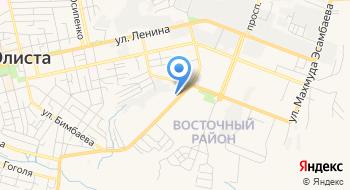 Первая коллегия адвокатов Республики Калмыкия на карте