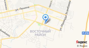 Отделение почтовой связи Элиста 358014 на карте