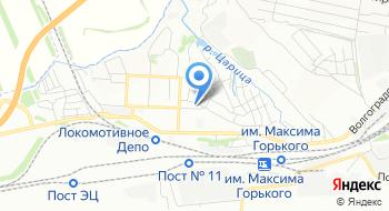 Железнодорожная больница Поликлиника №2 на карте