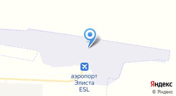 Аэропорт Элиста на карте
