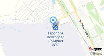 Волгоградская региональная поисково-спасательная база на карте