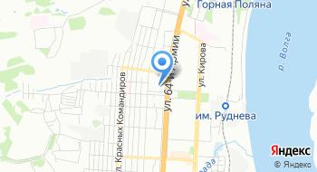 ГКОУ для детей нуждающихся в психолого-педагогической-медикосоциальной помощи Волгоградский областной центр психолого-медико-социального сопровождения на карте