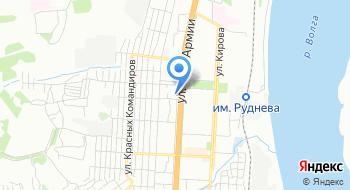 Следственный отдел по Кировскому району г. Волгоград СУ СК России по Волгоградской области на карте