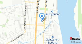 Муниципальное учреждение дополнительного образования Станция юных натуралистов Кировского района Волгограда на карте