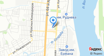 ГКОУ Волгоградская школа-интернат Надежда на карте