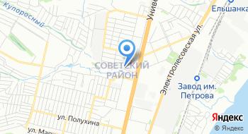 Управление федеральной миграционной службы по Волгоградской области в Советском районе города Волгограда на карте