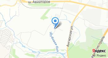 СТО Март на карте
