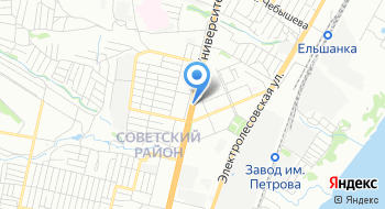 Избирательная Комиссия Советского района МО г. Волгоград на карте