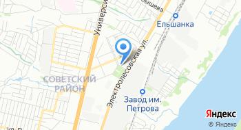 Отделение почтовой связи Волгоград 400011 на карте