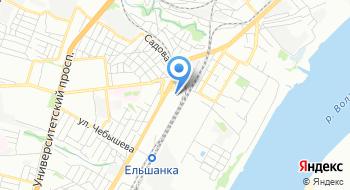 Ростов-Камень на карте