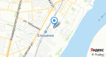 Волгоградский оптово-строительный рынок на карте