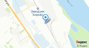 Авторазборка в Волгограде на карте