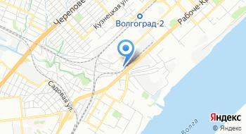 Федеральное автономное учреждение Волгоградский центр профессиональной подготовки и повышения квалификации кадров федерального дорожного агентства на карте