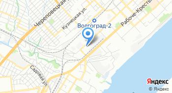 Ростехнадзор, Нижне-Волжское управление, отдел государственного энергетического надзора и надзора за гидротехническими сооружениями на карте