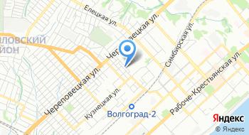 Поросята-Волгоград на карте