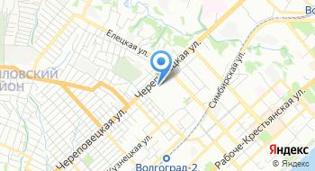 МБУ ЖКХ Ворошиловского района Волгограда на карте