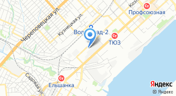 Волгоградский элеватор на карте