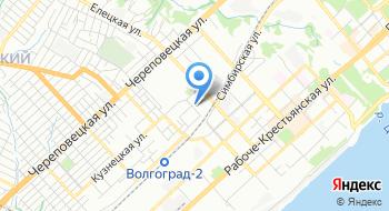 Батальон полиции №2 ОВО по городу Волгограду на карте