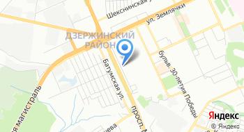 Автошкола Волгоград на карте