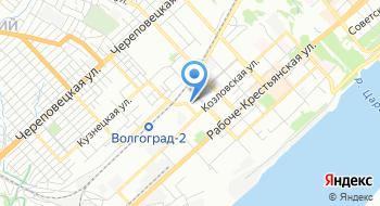 Отдел военного комиссариата Волгоградской области на карте