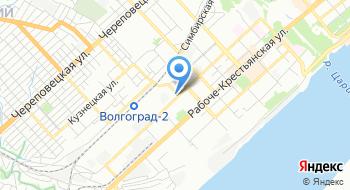 Волгоградское областное ГУП БТИ на карте