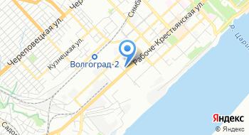 Гбук Волгоградский Тюз на карте