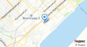 Зацарицынская компания на карте