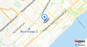 Комитет по жилищной политике Администрации Волгограда на карте