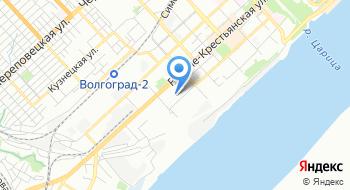 Гкоу Волгоградская школа интернат №1 на карте
