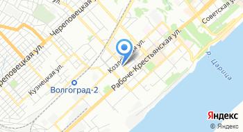 Ростехнадзор, Нижне-Волжское управление на карте