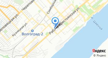 Ассоциация Совет муниципальных образований Волгоградской области на карте