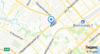 ОП №4 УМВД России по г. Волгограду на карте