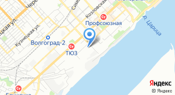 Волгоградская морская школа на карте